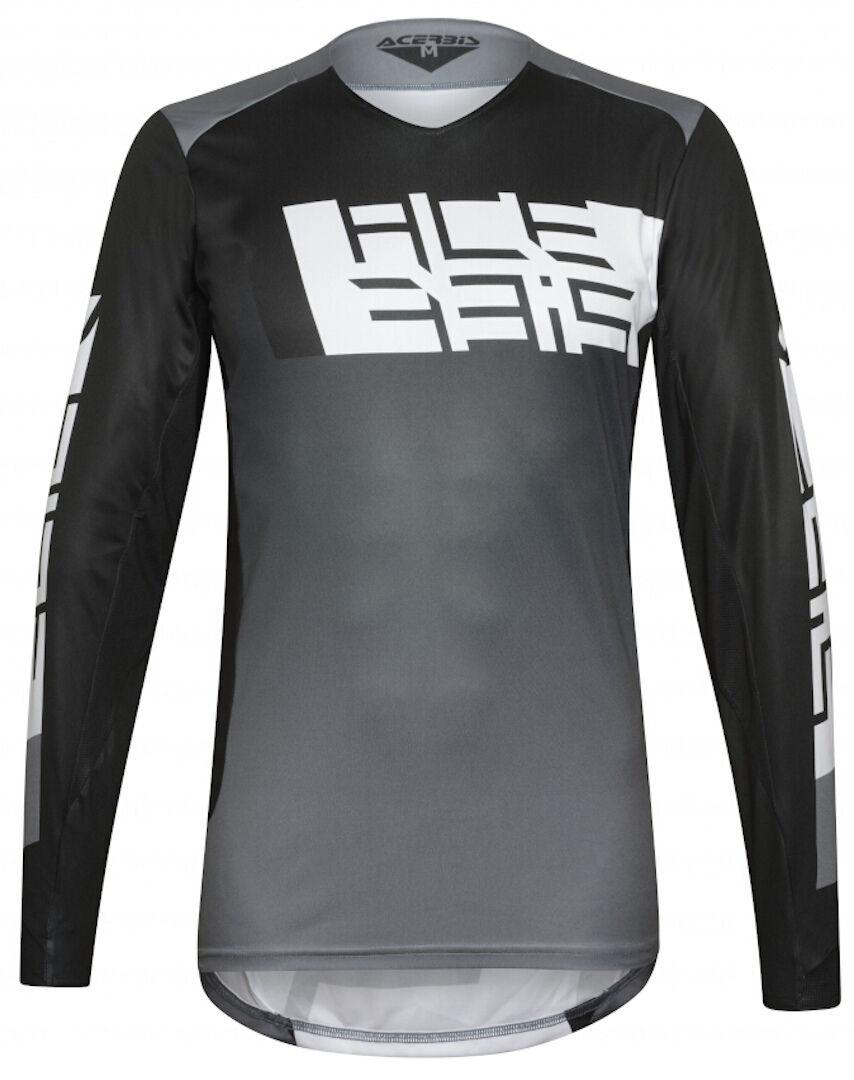 Acerbis LTD Outrun Maillot motocross Noir Gris taille : M