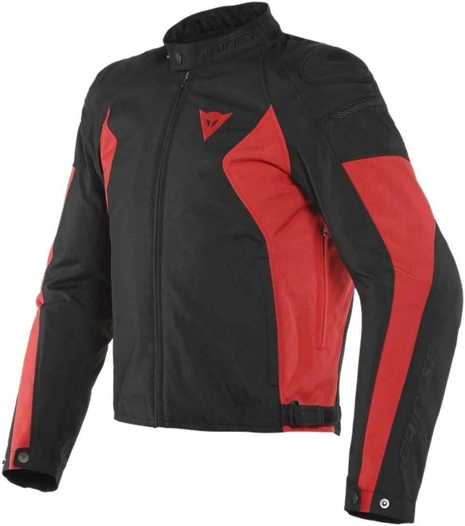 Dainese Mistica Tex Veste textile de moto Noir Rouge taille : 46