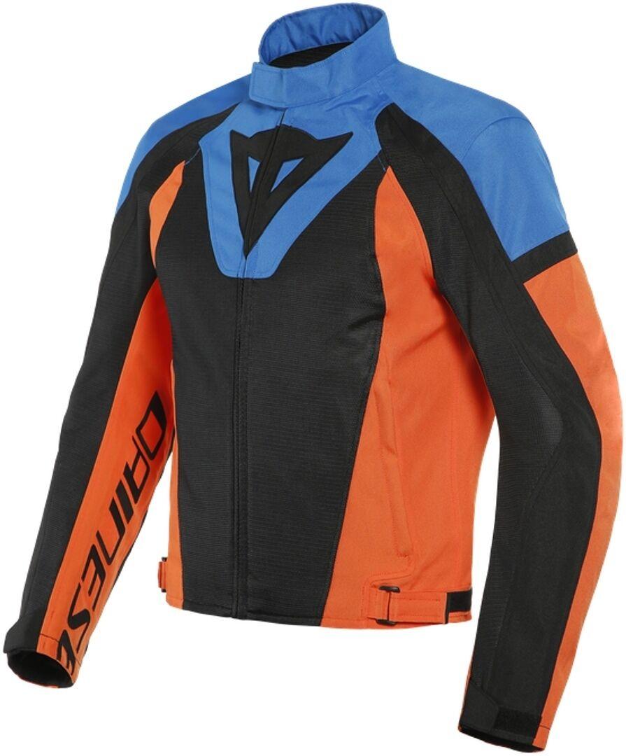 Dainese Levante Air Tex Veste textile moto Noir Bleu Orange taille : 60
