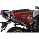 Oxford P50R Sacoche de selle moto Rouge 41-50l