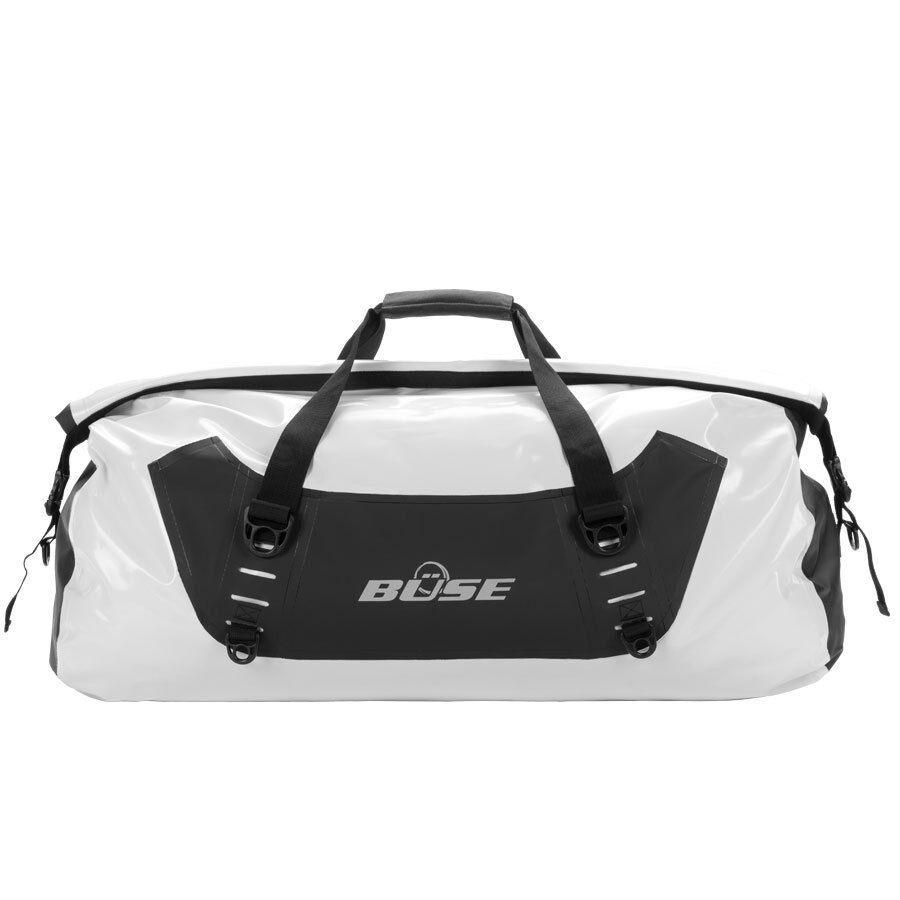 Büse 9082 Sac 50 litres de bagages étanches Noir Blanc unique taille