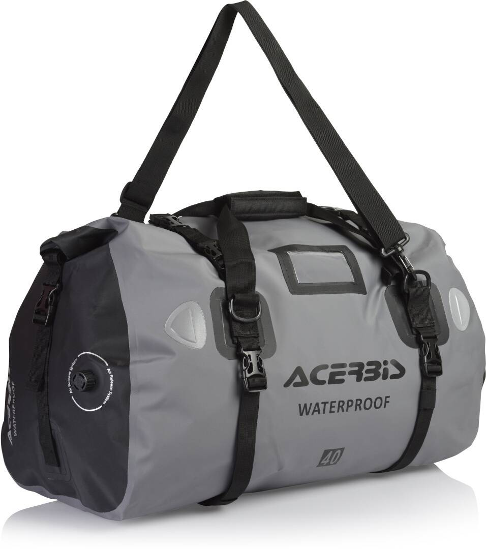 Acerbis X-Water 40L Sac Noir Gris taille : 31-40l