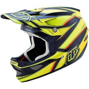 Troy Lee Designs D3 Reflex Yellow Helmet Casque Noir Jaune taille : M - Publicité