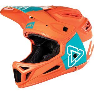 Leatt DBX 5.0 V26 Composite Casque de vélo Bleu Orange taille : L