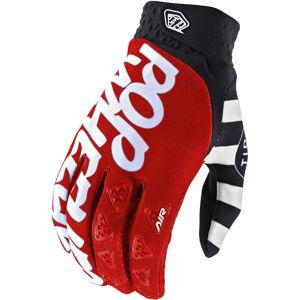 Troy Lee Designs Air Pop Wheelies Gants Motocross Noir Blanc Rouge taille : 2XL - Publicité