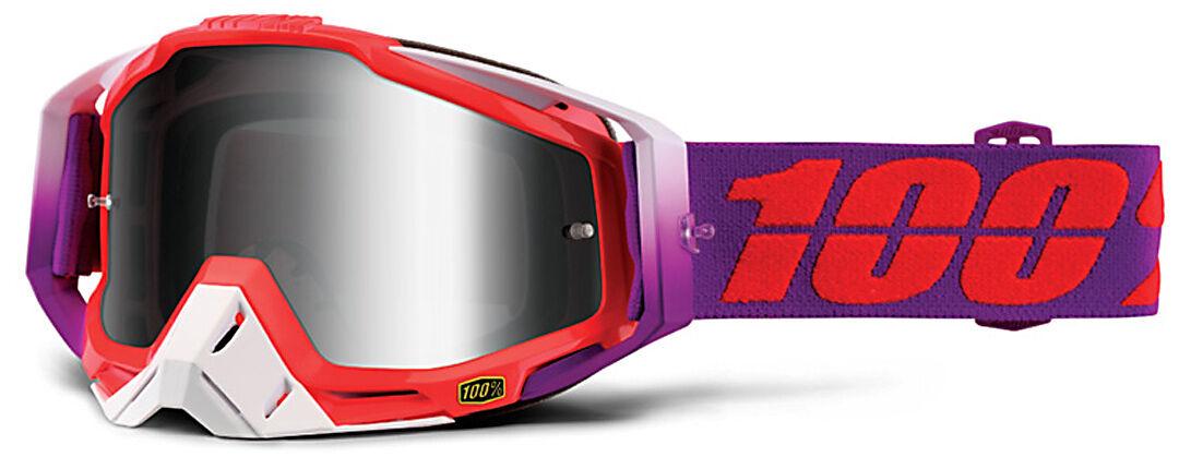 100% Racecraft Extra Masques de motocross Pourpre taille : unique taille