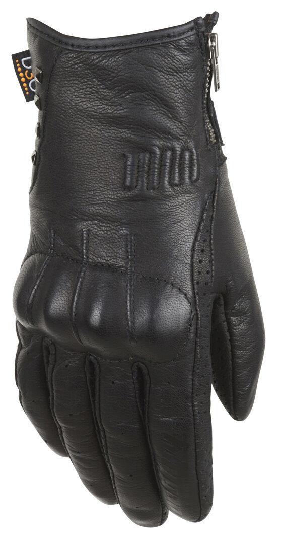 Furygan Elektra D30 Mesdames les gants de moto Noir taille : XL