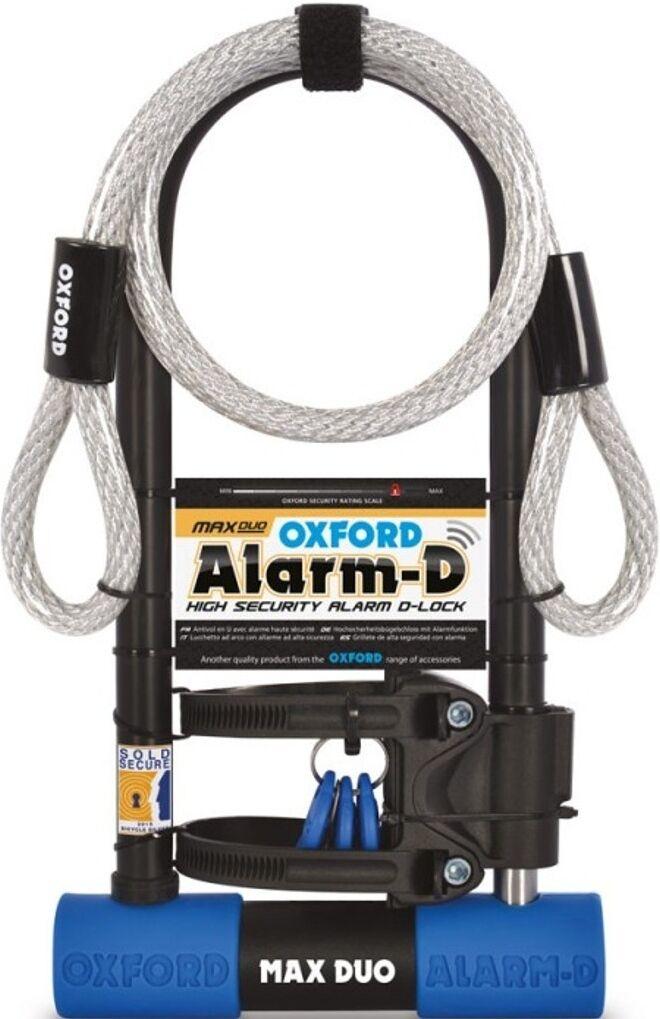 Oxford Alarm-D DUO Max Serrure de manille Bleu taille :