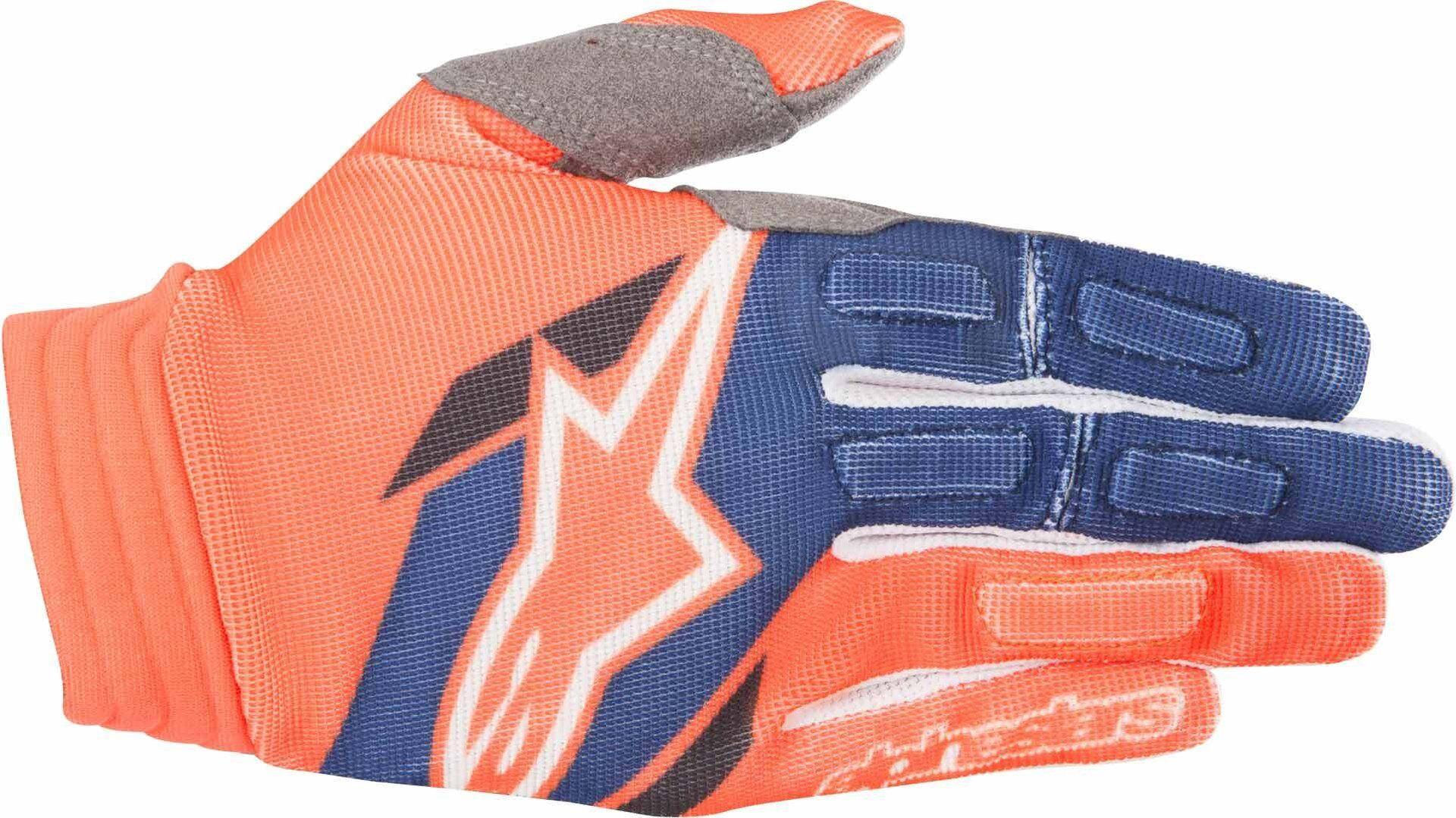 Alpinestars Aviator Gloves 2018 Gants Bleu Orange taille : 2XL