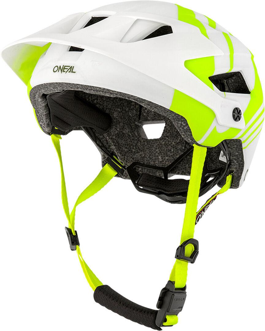 Oneal Defender Nova Casque de vélo Blanc Jaune taille : M L