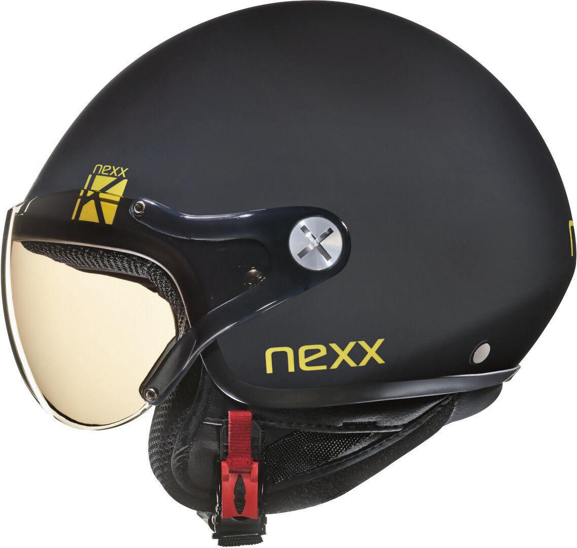 Nexx Urban SX.60 Kids K Kids Jet Helmet Casque de jet d'enfants Noir taille : 3XS 2XS