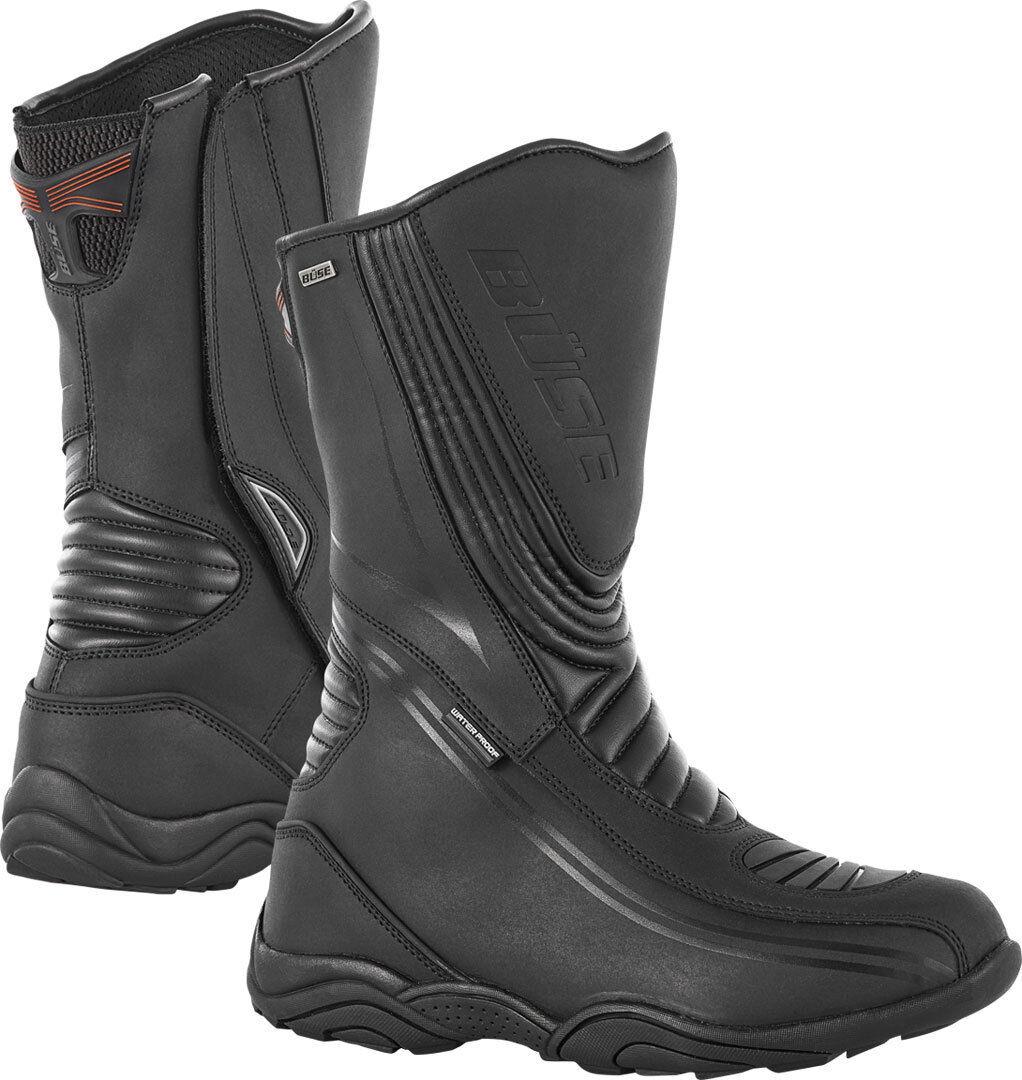Büse D30 Evo Bottes de moto de dames Noir taille : 38