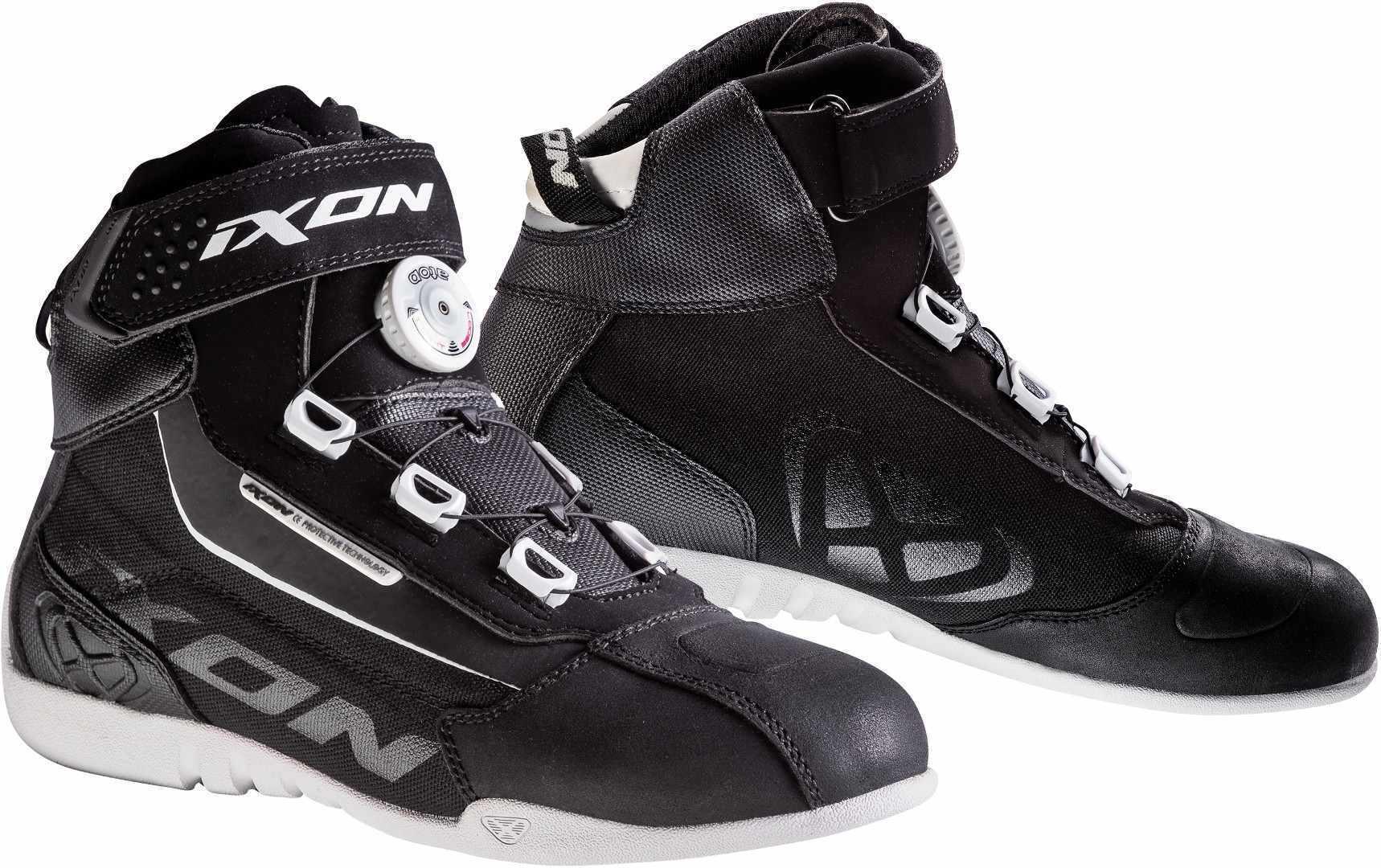 Ixon Assault Evo L Ladies chaussures de moto Noir Blanc taille : 37