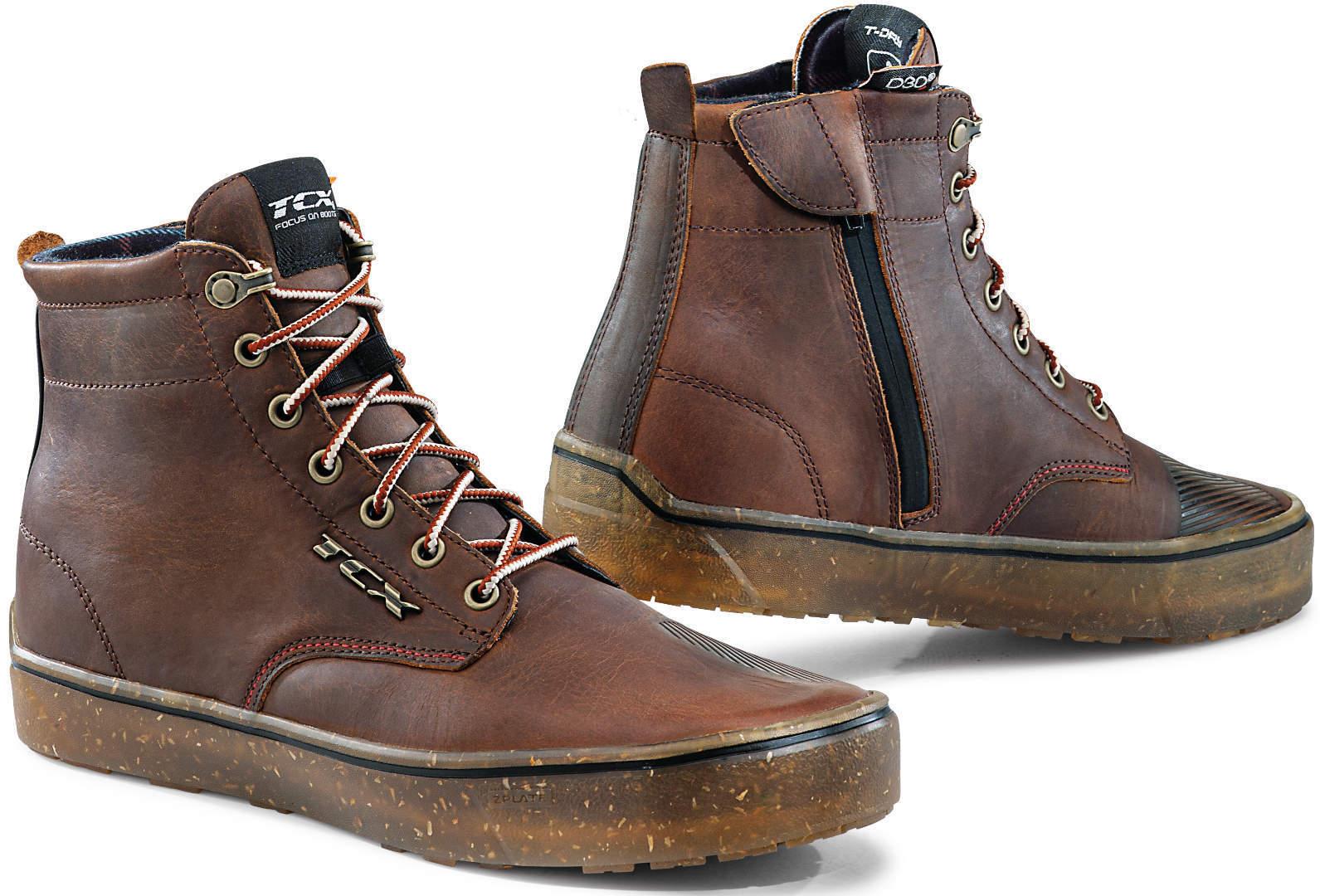 TCX Dartwood Chaussures de moto imperméables Brun taille : 45