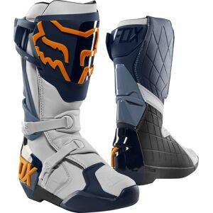 FOX Comp R Bottes de motocross Bleu Orange taille : 50 - Publicité