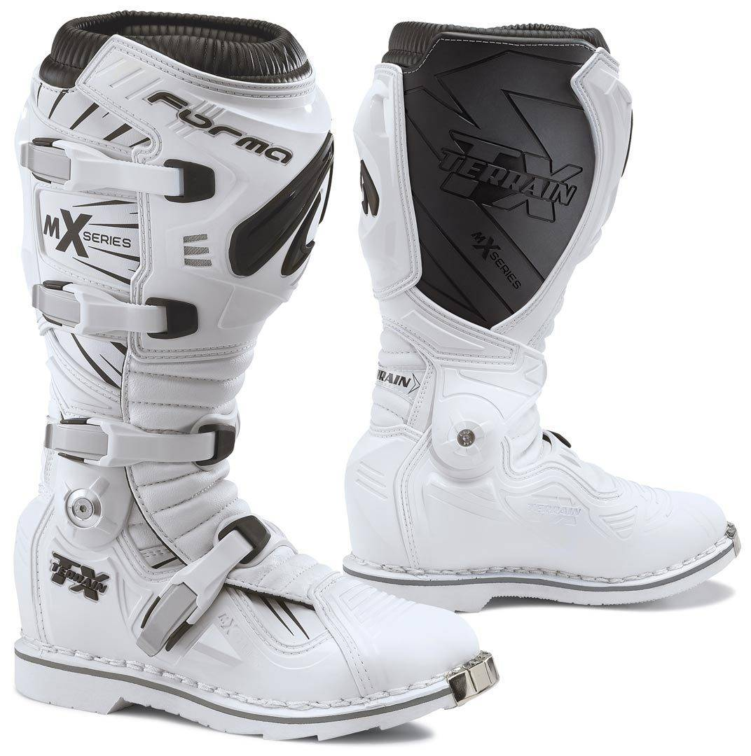 Forma Terrain TX 2.0 Bottes Motocross Blanc taille : 45