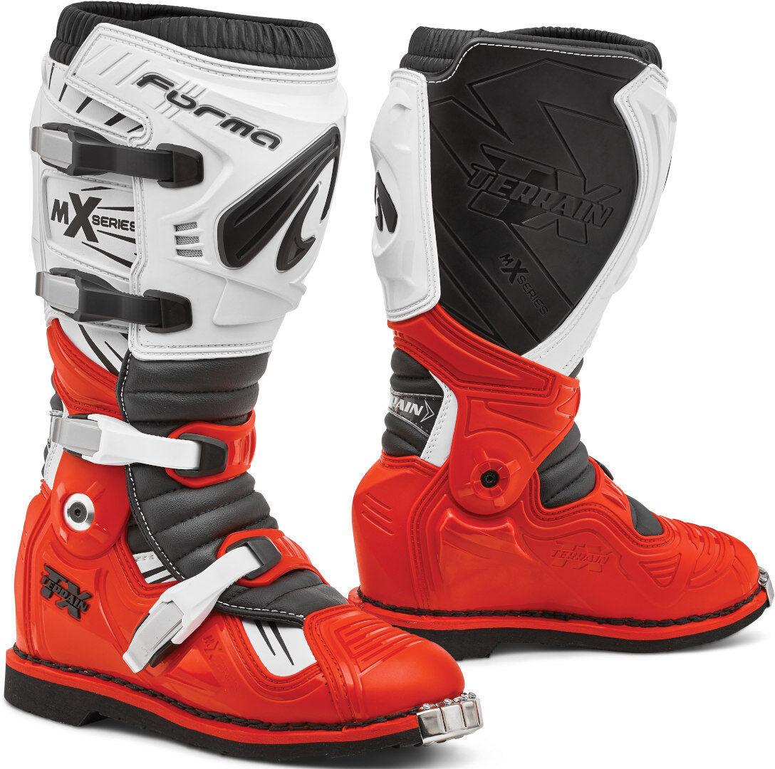 Forma Terrain TX 2.0 Bottes Motocross Blanc Rouge taille : 47