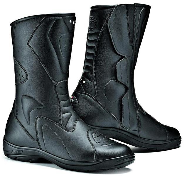 Sidi Tour Rain Moto Bottes imperméable à l'eau Noir taille : 47