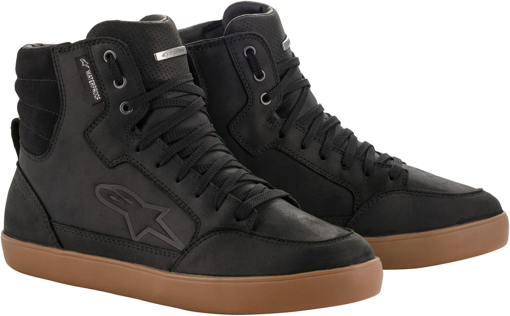 Alpinestars J-6 Chaussures imperméables Noir Brun taille : 47