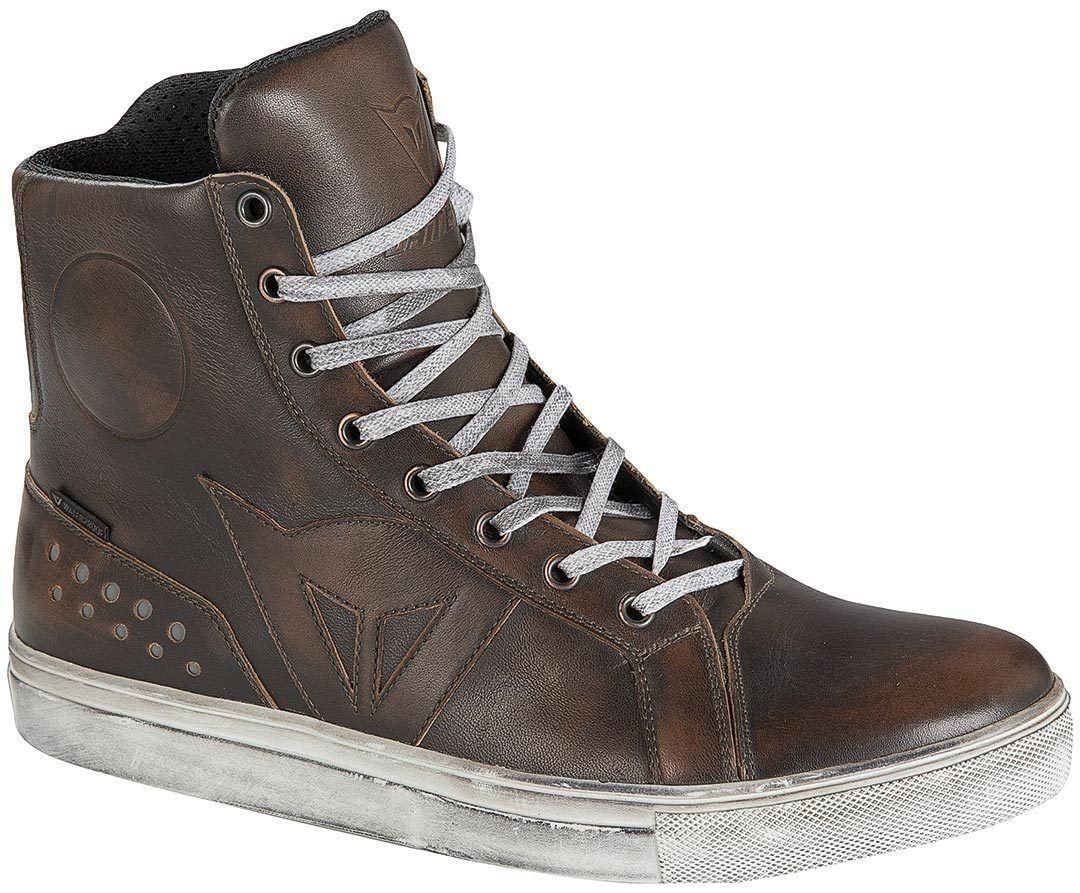 Dainese Street Rocker D-WP Chaussures de moto Brun taille : 40