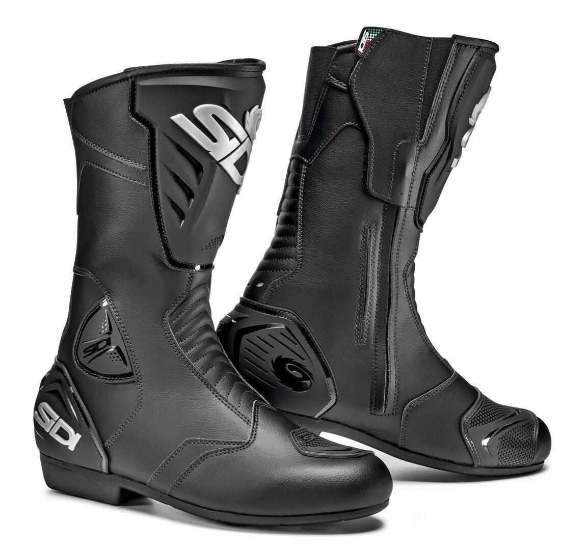 Sidi Black Rain Bottes de moto imperméable à l'eau Noir taille : 39