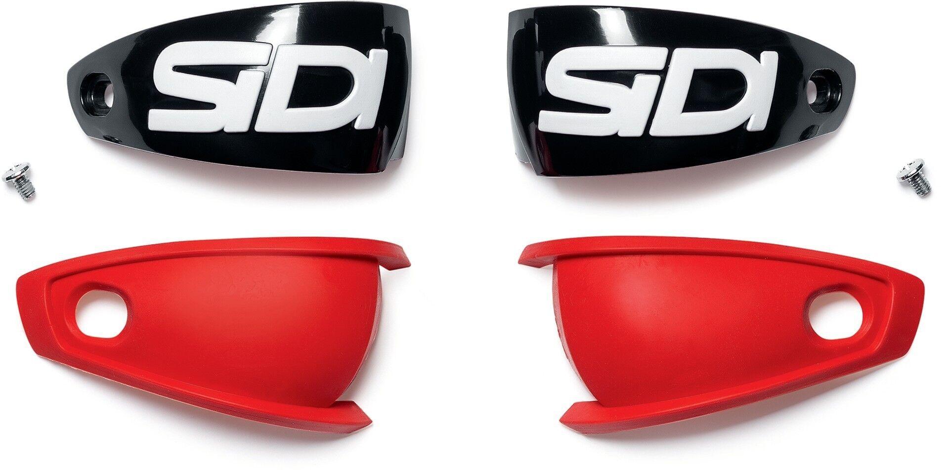 Sidi Mag-1 Asymmetric Heel Cup Coupe du talon Noir Rouge taille : unique taille