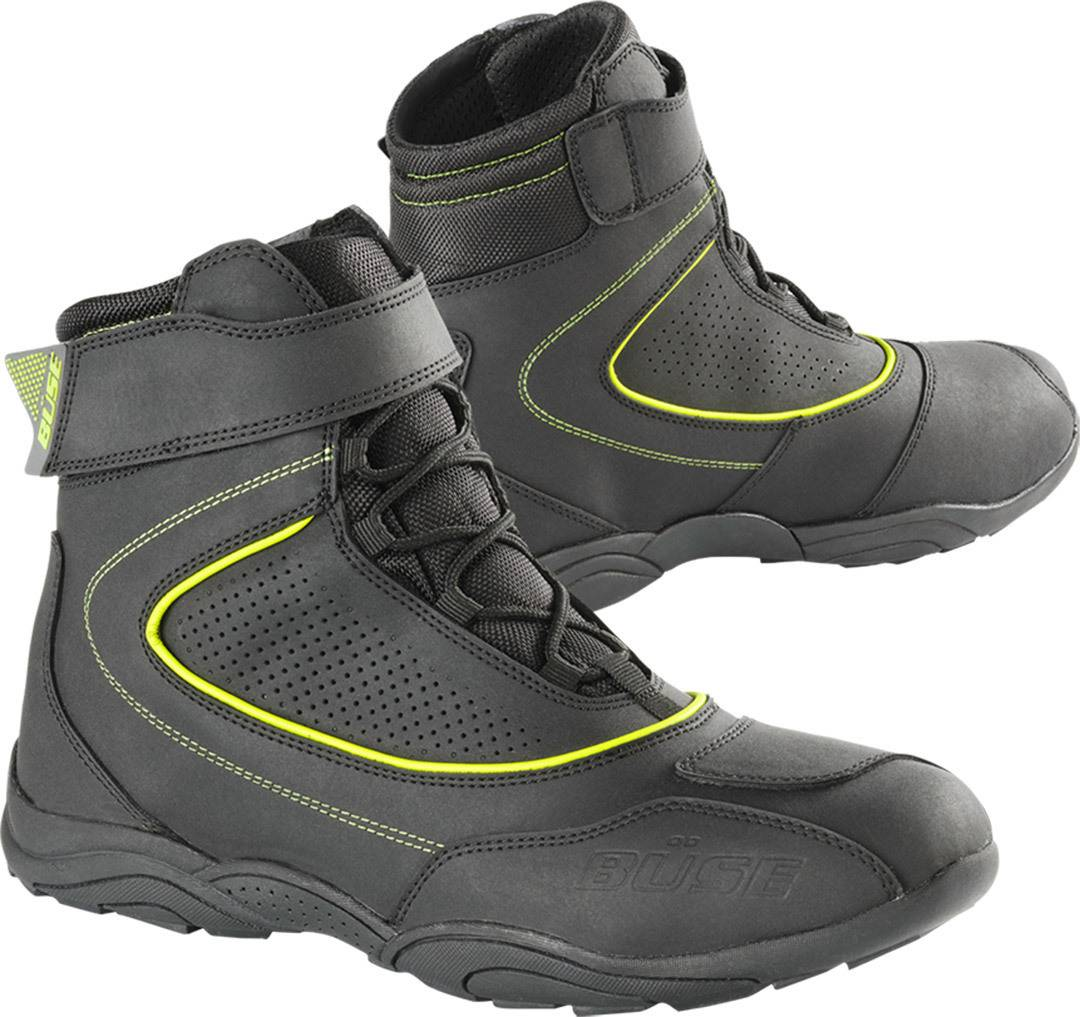 Büse B57 Chaussures de moto Noir Jaune taille : 37