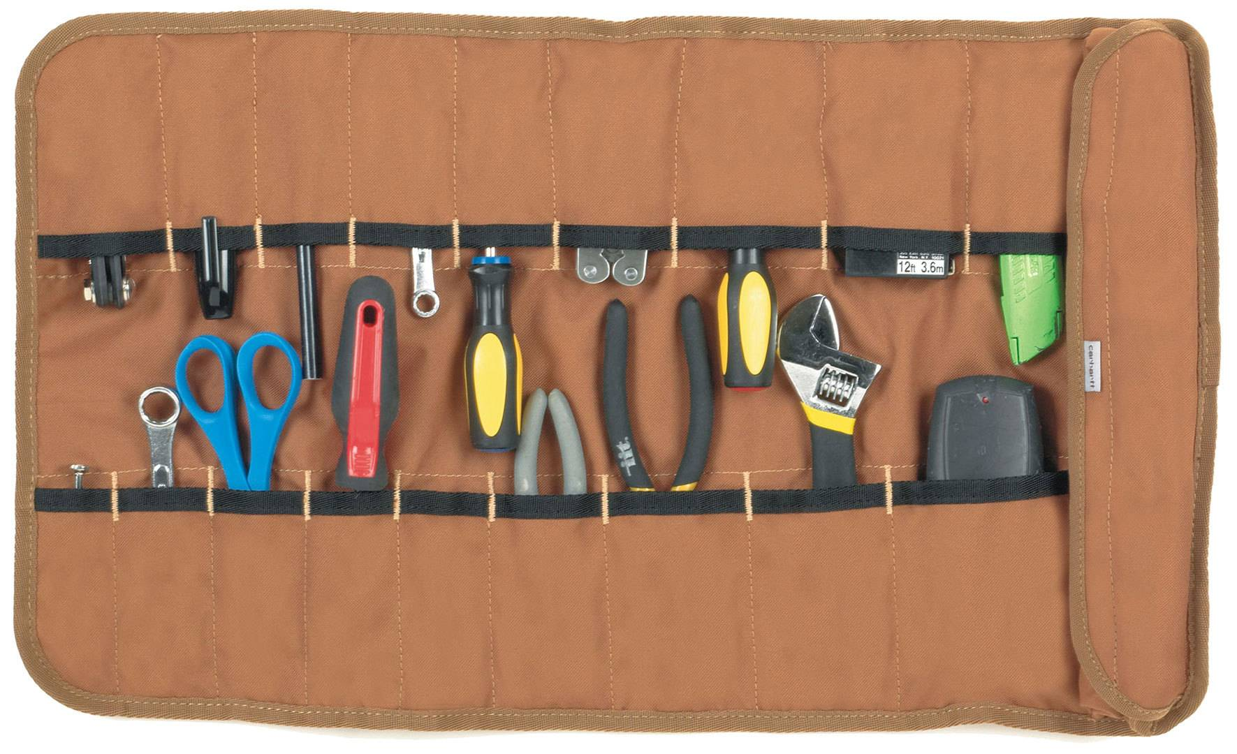 Carhartt Legacy Tool Roll Rouleau d'outils Brun taille : unique taille