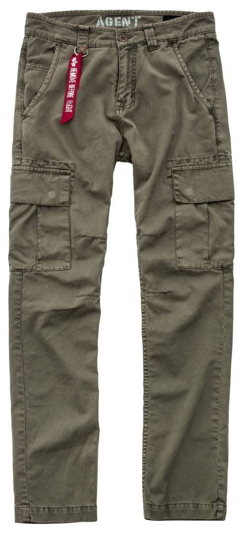 Alpha Industries Agent Jeans/Pantalons Vert taille : 31
