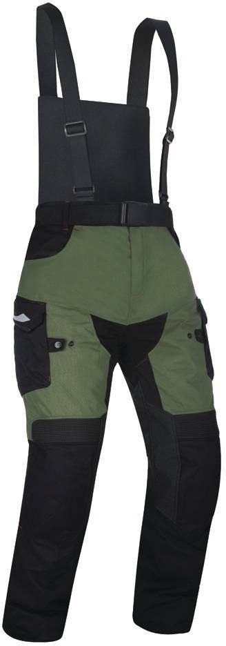 Oxford Montreal 3.0 Pantalon textile de moto Vert Multicolore taille : M
