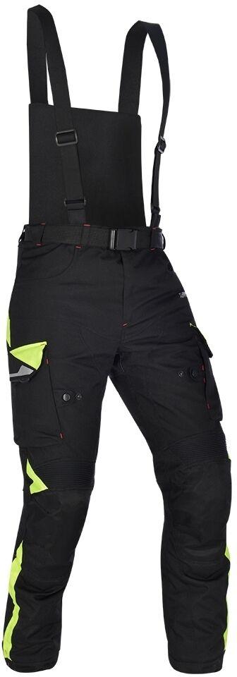 Oxford Montreal 3.0 Pantalon textile de moto Noir Jaune taille : 2XL