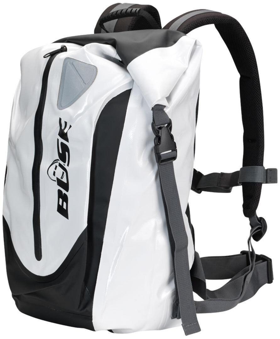Büse 90822 Imperméable à l'eau sac à dos 30 litres Noir Blanc unique taille