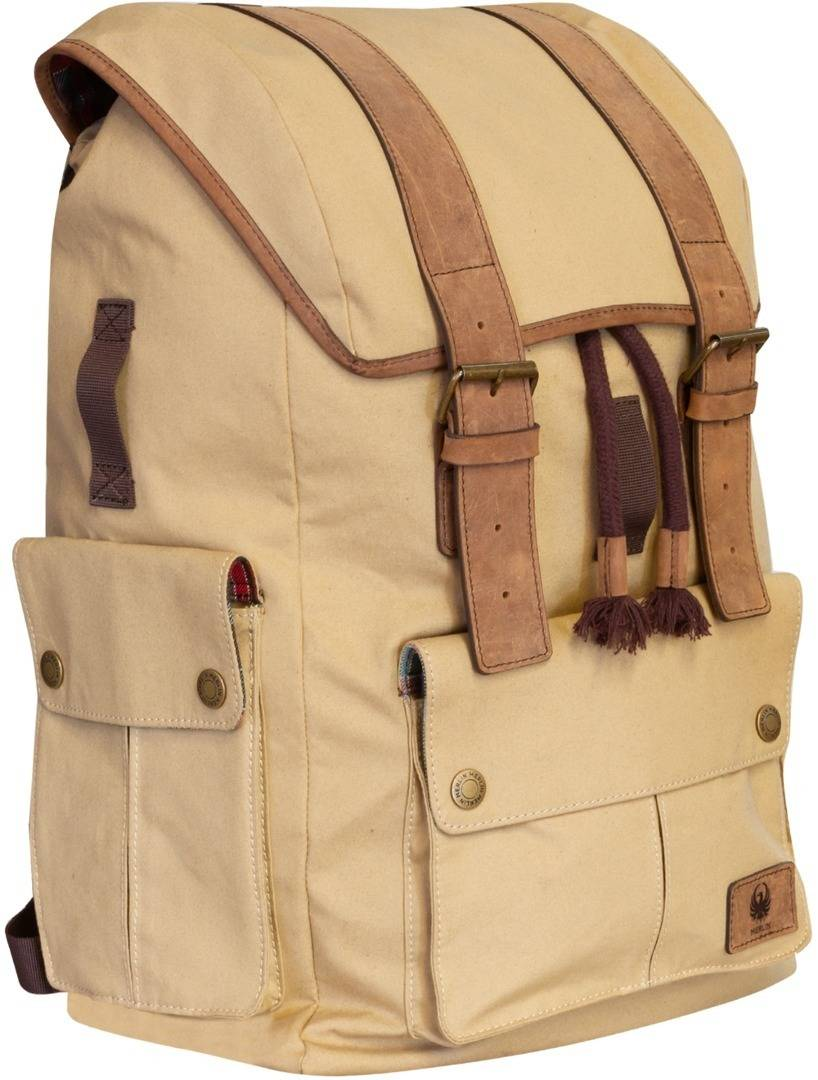 Merlin Ashby Classic Sac à dos Beige taille : 21-30l
