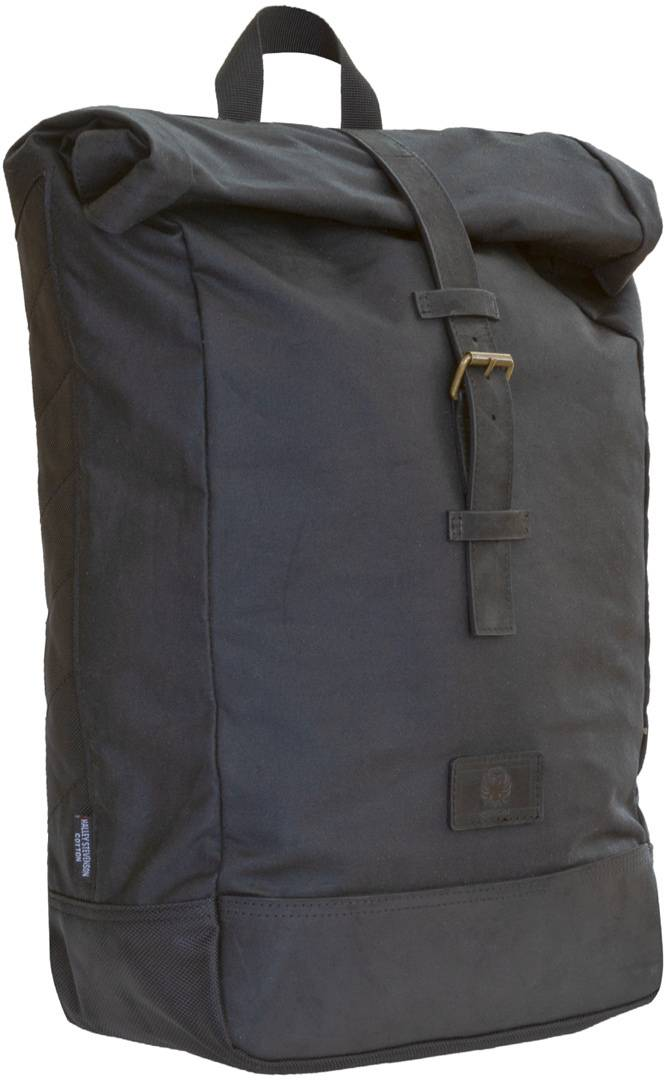Merlin Yarnfield Roll Top Sac à dos Noir taille : 11-20l