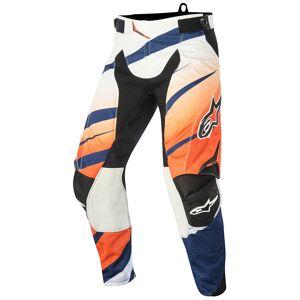 Alpinestars Techstar Venom Pantalon Motocross 2015 Blanc Bleu Orange taille : 28 - Publicité