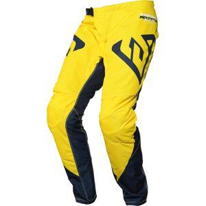 Answer Racing Answer Syncron Pro Glow Pantalon motocross pour les jeunes Bleu Jaune taille : 26 - Publicité