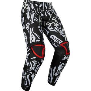 FOX 180 Peril Pantalon de motocross pour les jeunes Noir Blanc taille : 24 - Publicité