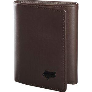 FOX Trifold Leather Porte-monnaie Brun taille : unique taille - Publicité