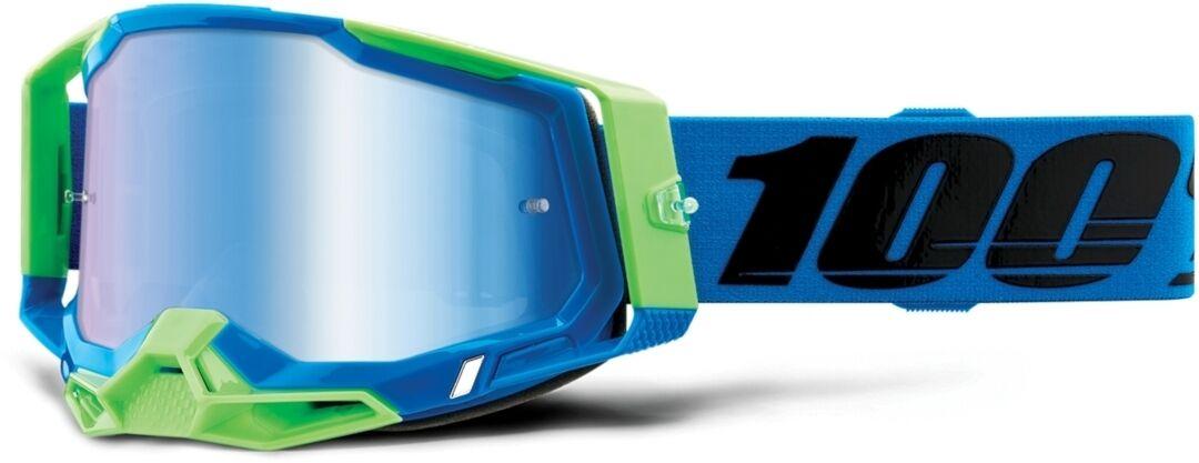 100% Racecraft II Fremont Lunettes de motocross Noir Bleu taille : unique taille
