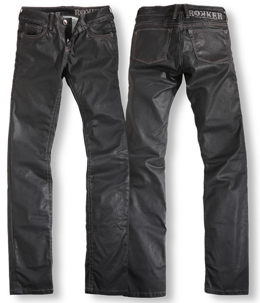 Rokker The Diva Jeans Lady Noir taille : 3XL