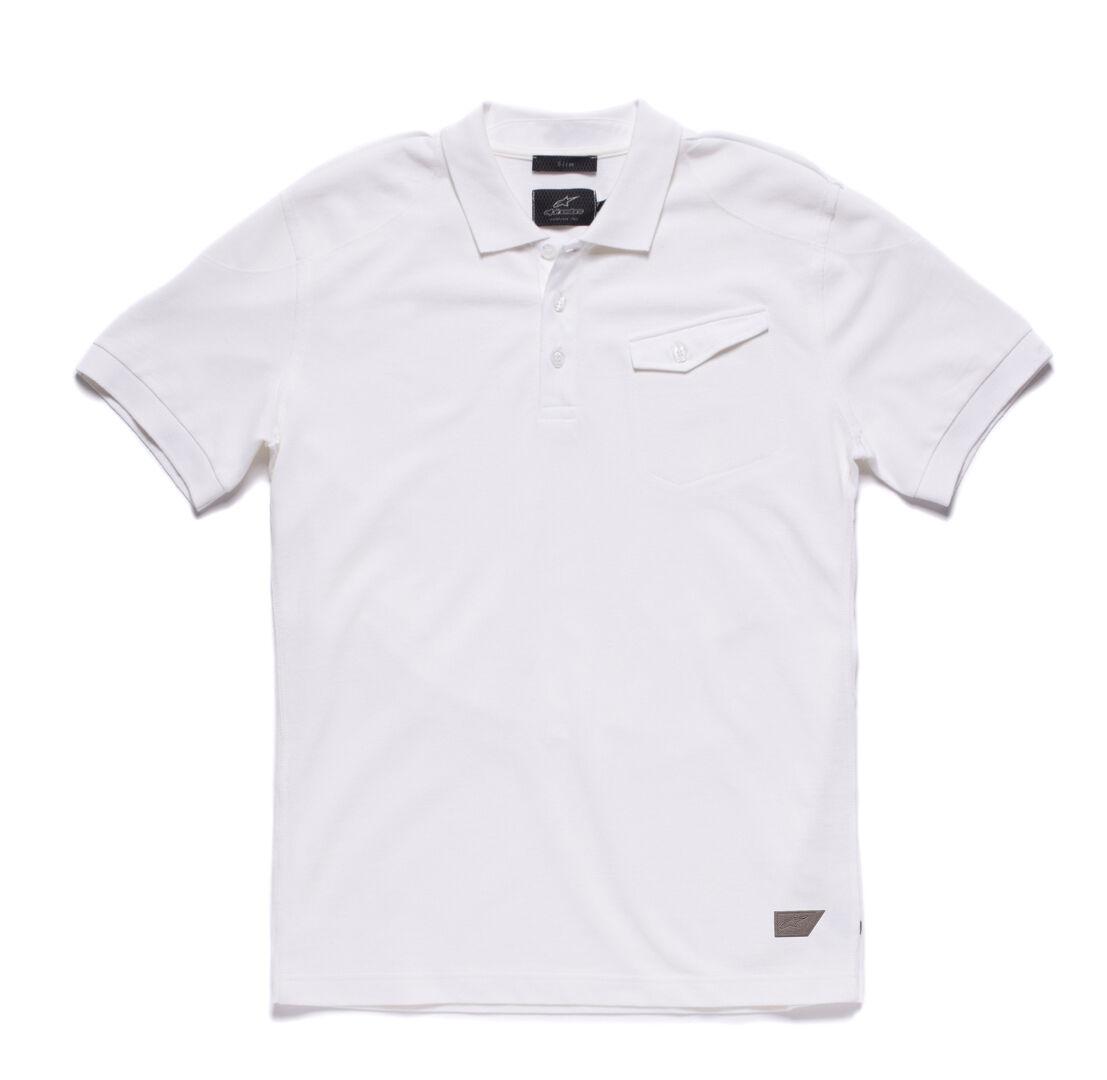 Alpinestars Ton Polo Shirt Blanc taille : S