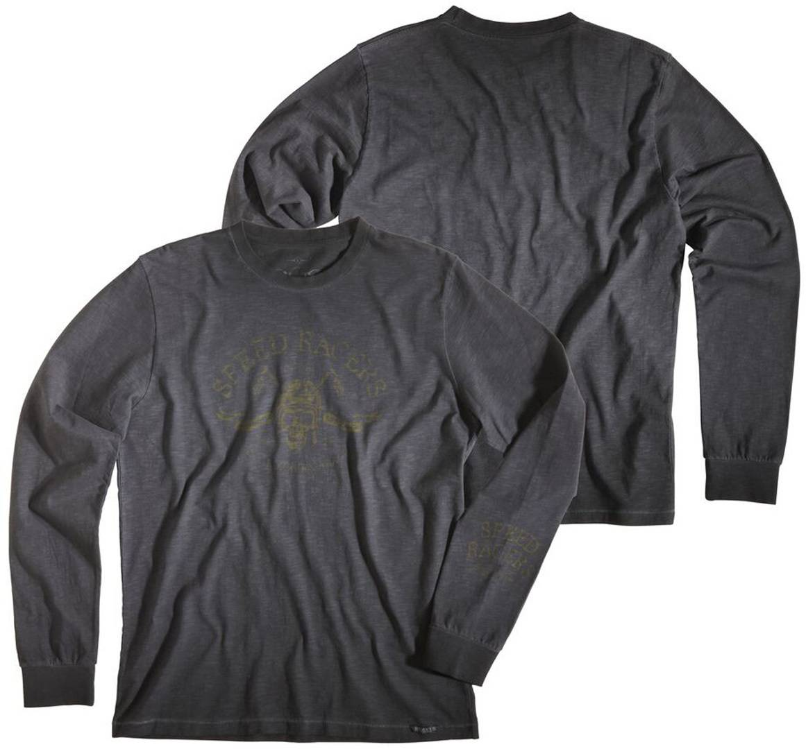 Rokker Green Valley LS Shirt Gris taille : 3XL