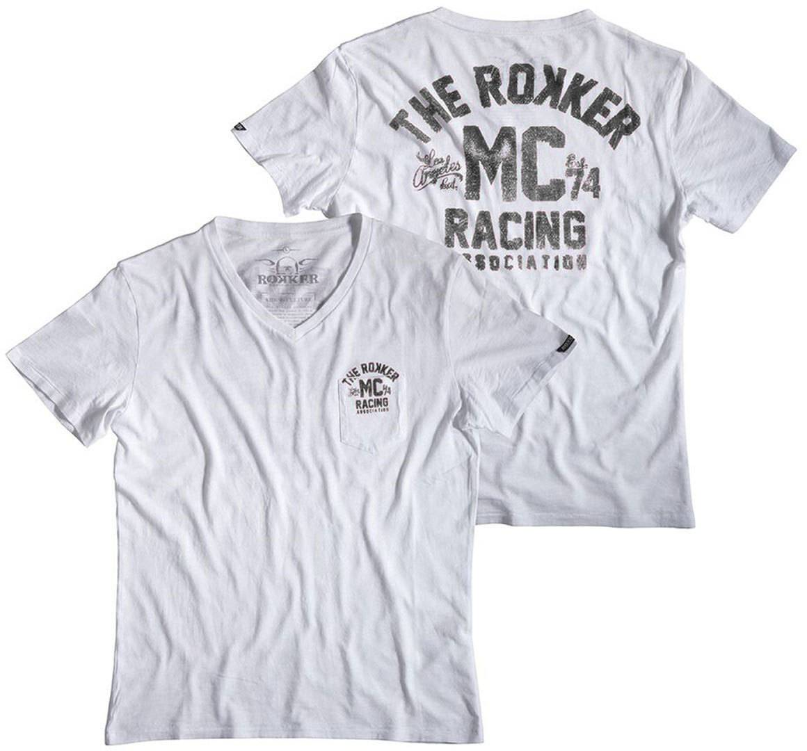 Rokker MC Blanc taille : XL