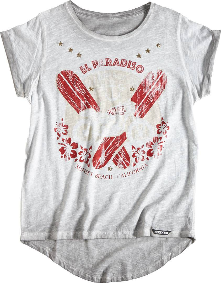 Rokker El Paradiso Blanc taille : XL