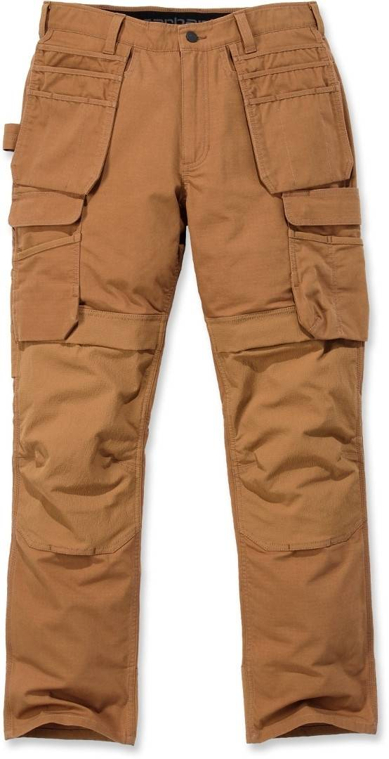Carhartt Emea Full Swing Multi Pocket pantalon Brun taille : 28