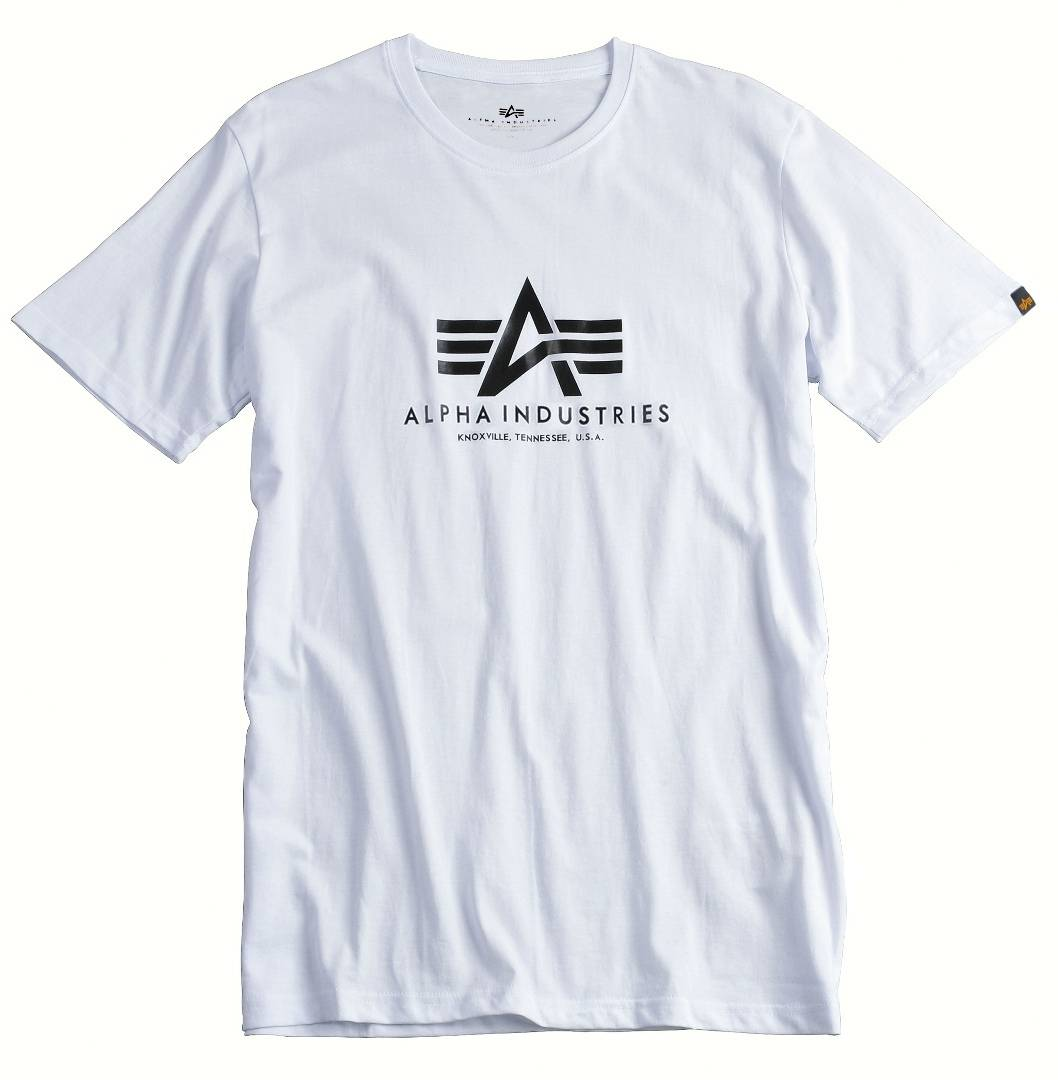 Alpha Industries Basic T-Shirt Blanc taille : L