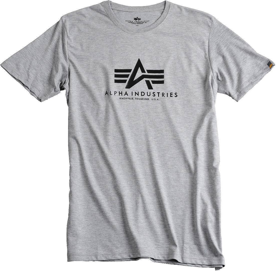 Alpha Industries Basic T-Shirt Gris taille : XL