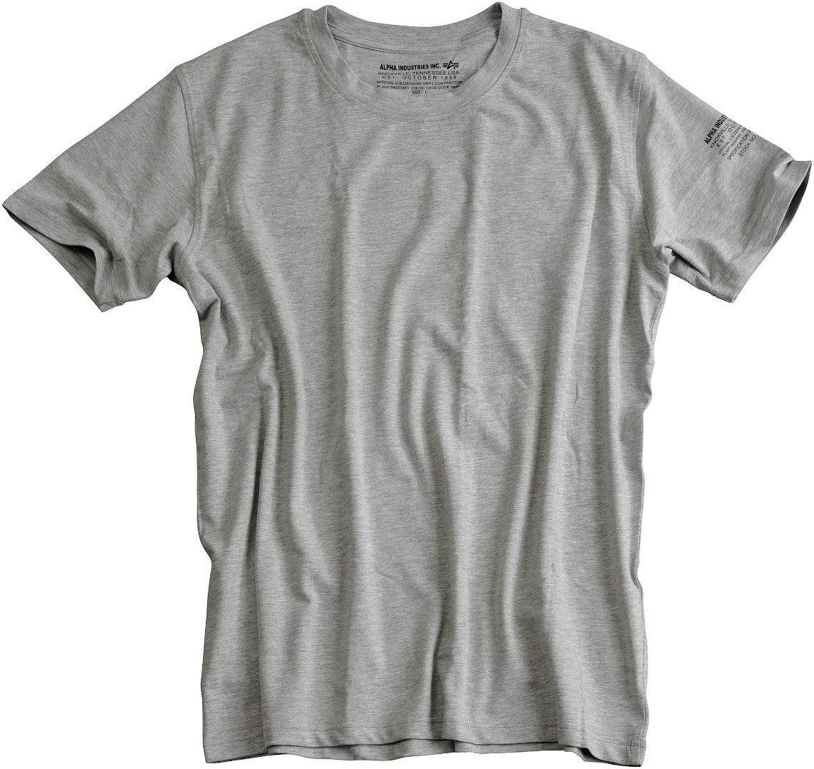 Alpha Industries Bodywear T-Shirt Gris taille : S