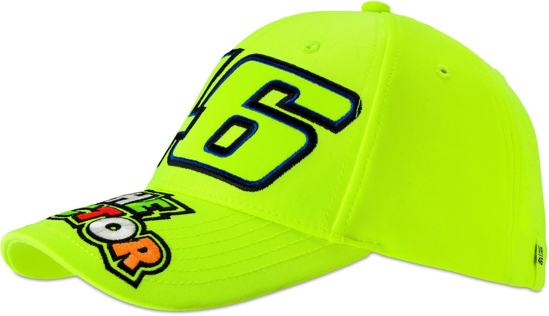 VR46 The Doctor Yellow Cap Jaune taille : unique taille