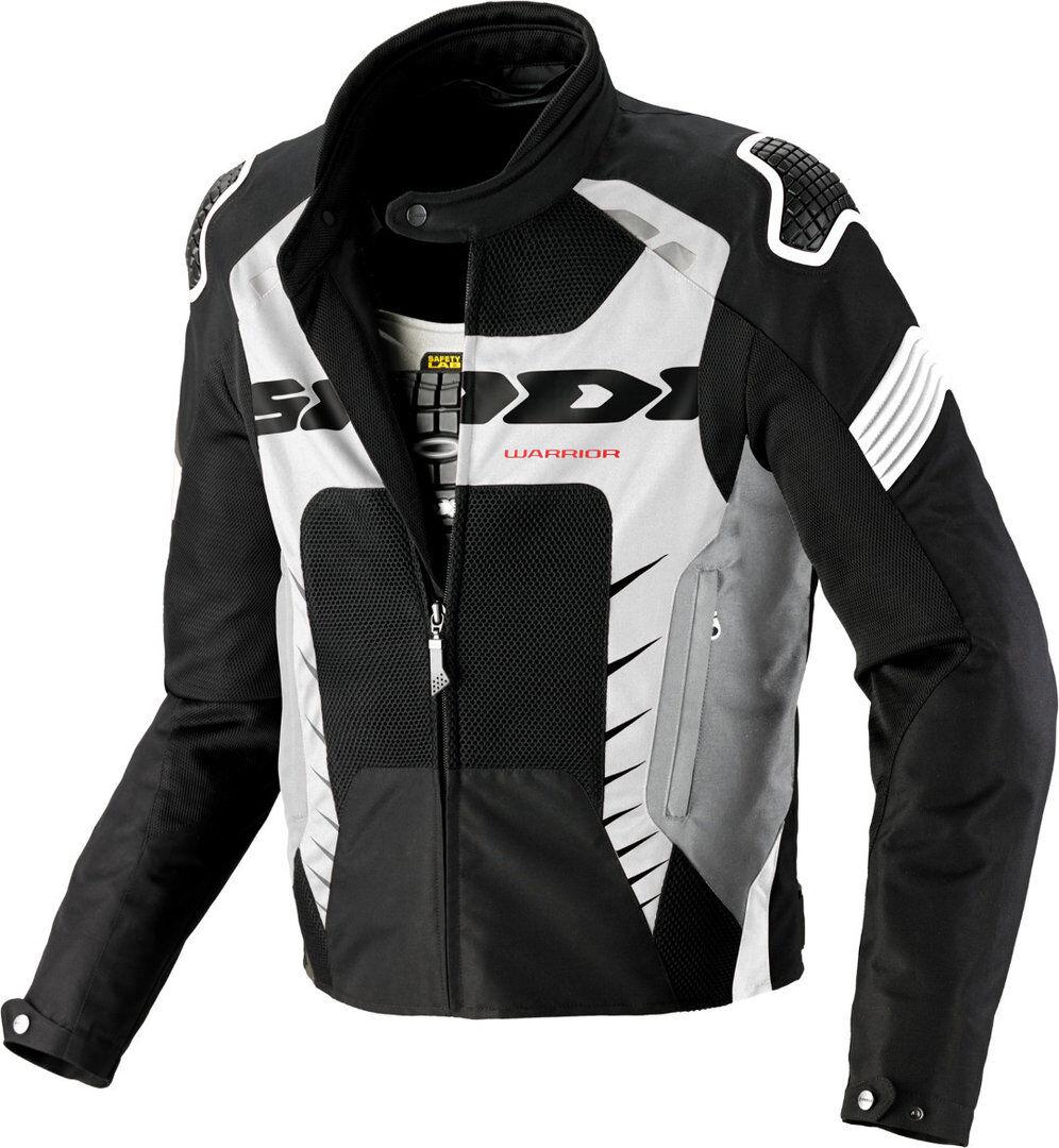 Spidi Warrior Net 2 Veste Textile moto Noir Blanc taille : S